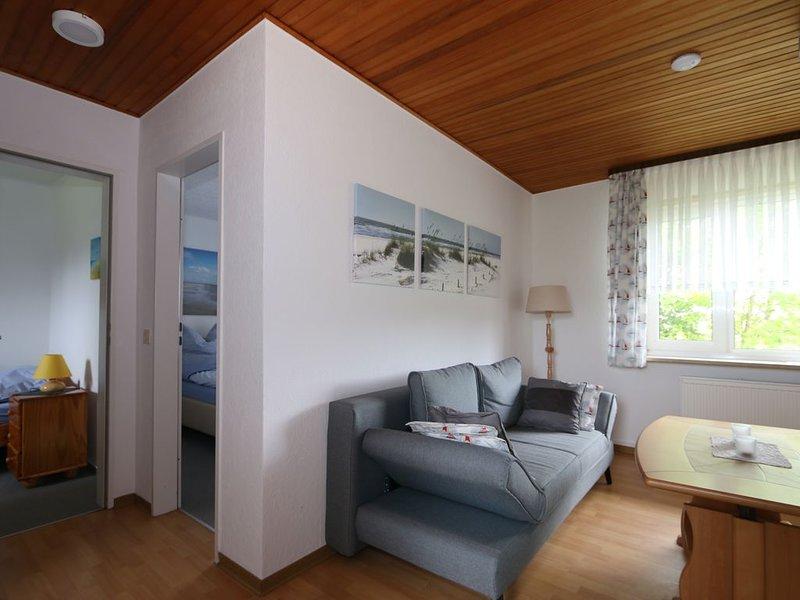 Gemütliche Wohnung mit Blick ins Grüne, alquiler vacacional en Norden