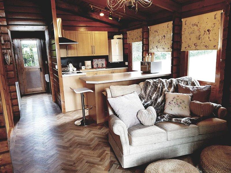Romantic Log Cabin, location de vacances à Cynwyd
