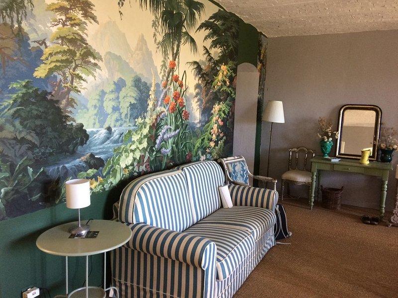 Appartement avec vue mer dans Manoir, vacation rental in Auberville