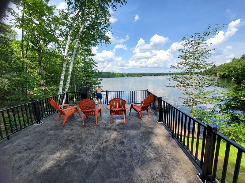 Eagle Point Rental on White Sand Lake **2020 Construction**, vacation rental in Lac du Flambeau