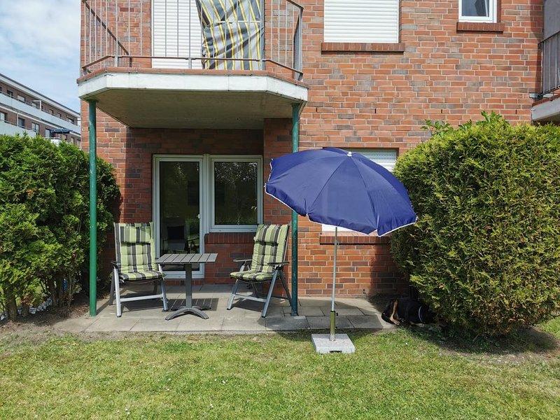 Gemütliche Erdgeschoss Wohnung in Dornumersiel, holiday rental in Langeoog
