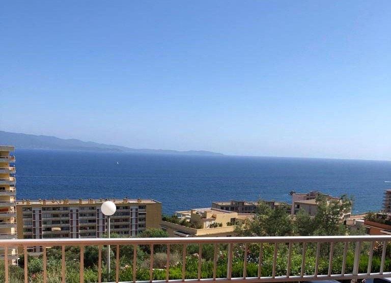 Appartement F1 40m2, vue mer, îles Sanguinaire, vacation rental in Ajaccio