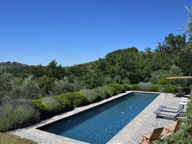 Casetta Kiwi, Gaiole in Chianti, Siena and Chianti, vacation rental in Barbischio