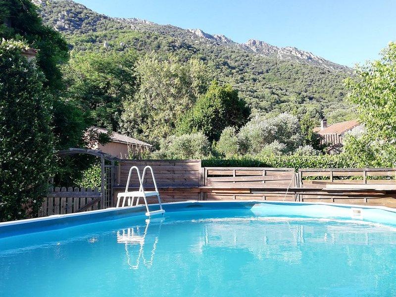Vakantiehuis aan Gorges d'Héric, holiday rental in Vieussan