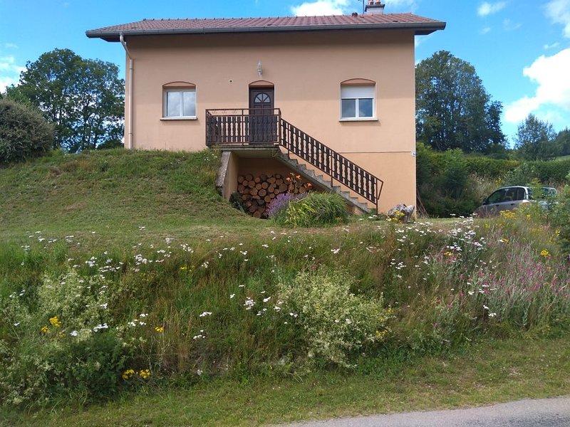 Maison sympathique et chaleureuse  à 10 min Gerardmer  8 personnes 130 m2, holiday rental in Fraize
