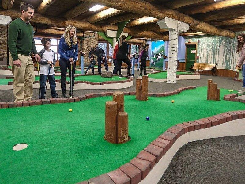 INDOOR FUN: Miniature Golf at 7 Springs Resort