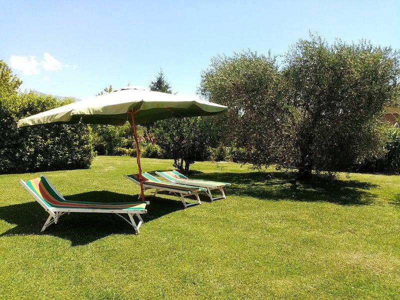 B&B Vecchio Casale Margherita \ Camera Verde, holiday rental in Capezzano Pianore