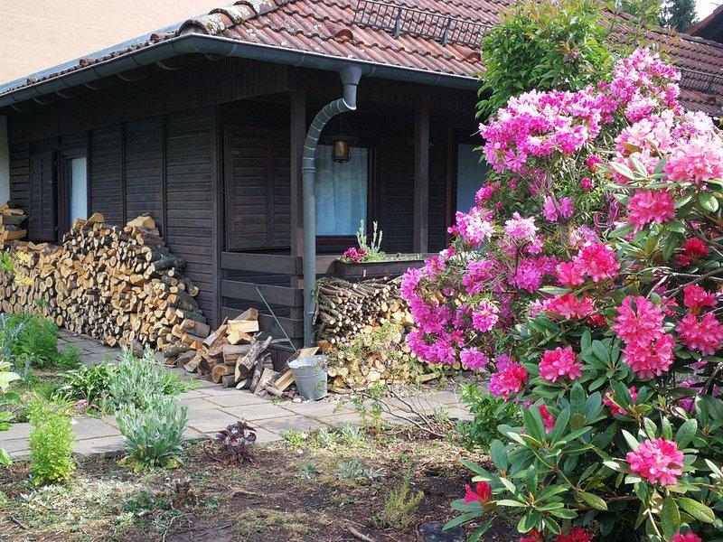 Ferienhaus Winkelhäuschen mit 2 Schlafzimmern im Vorspessart, holiday rental in Lower Franconia