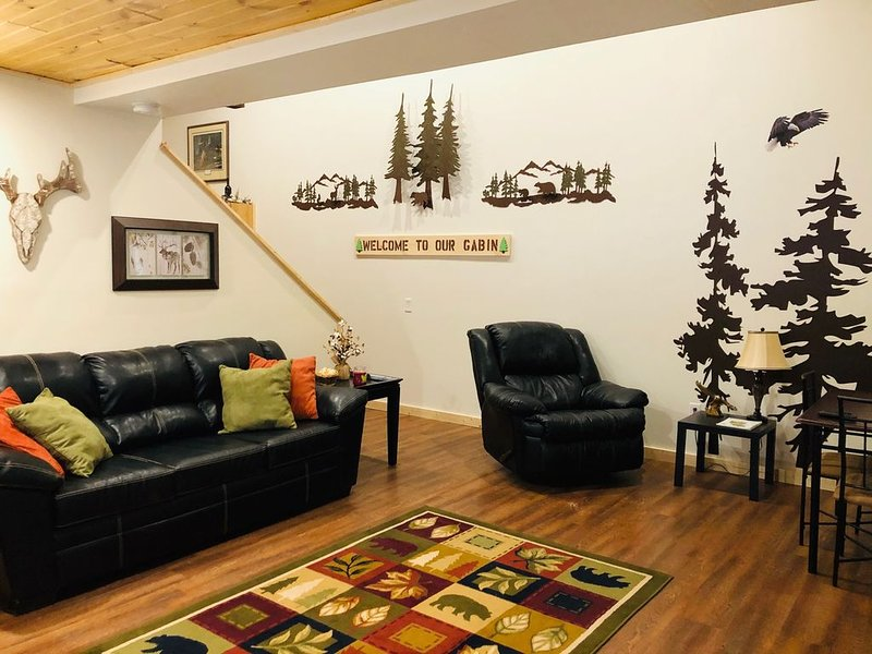 Cozy, secluded cabin in North woods of Wisconsin, alquiler vacacional en Wausaukee