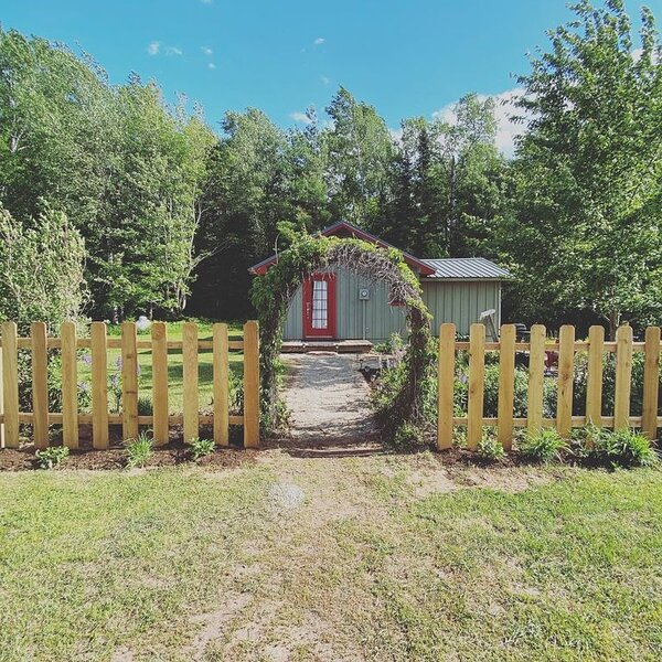 The Cottage at Brule River Barn, holiday rental in Brule