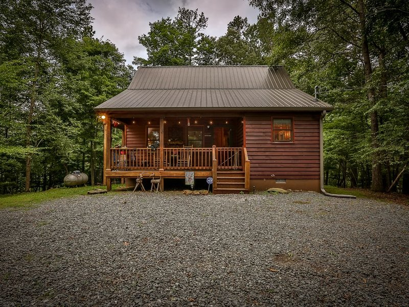 Coosawattee Cardinal - Cozy Cabin with Hot Tub, Fire Pit, Dog-Friendly!, holiday rental in East Ellijay