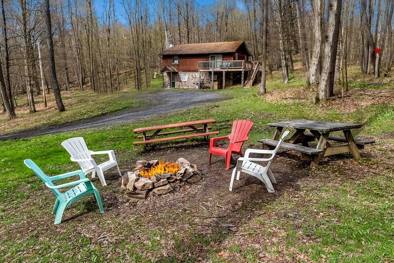For Your Star Gazing Pleasure - Blue Skies Lodge In Coudersport Pa, Your Remote Cabin with Your Very Own Private star Gazing Field. You and the Night Sky are Invited. Call us Today.