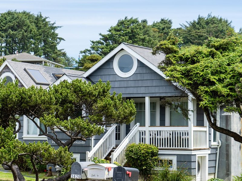 New listing! Oceanview home w/ spacious patio & fireplace - close to beach, vacation rental in Neotsu