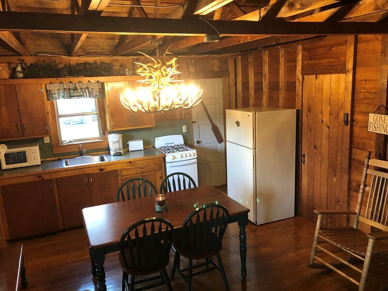 Sweet Valley Cottages - Deluxe Cottage near Ricketts Glenn State Park, holiday rental in Harveys Lake