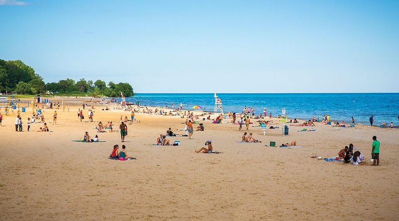Enjoy the beaches and shores of Lake Michigan!