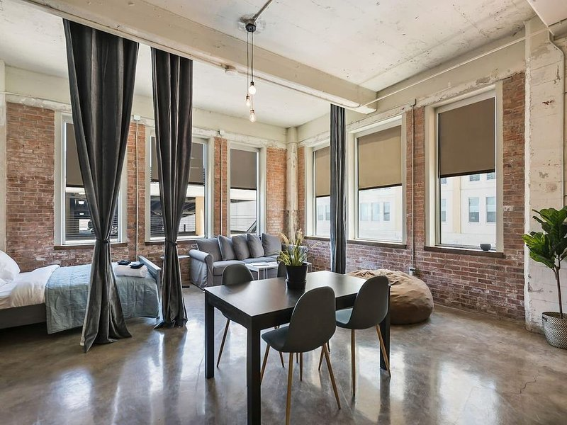 Jurny | Convention Center | Touchless 3bd Downtown – semesterbostad i Dallas