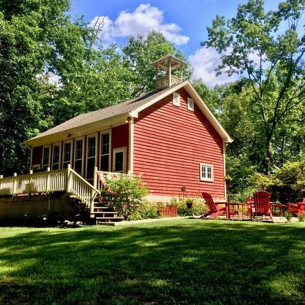 Brown County Indiana 1891 Schoolhouse, vacation rental in Morgantown