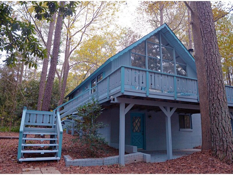 Country Cabin within one mile to Callaway Gardens! Bring your Pet!, aluguéis de temporada em Pine Mountain Valley