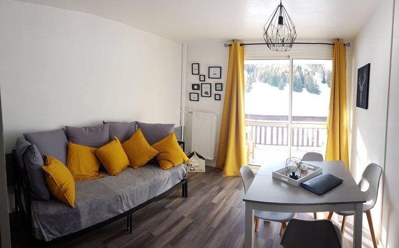 Studio pied des pistes plein sud, alquiler de vacaciones en Le Devoluy