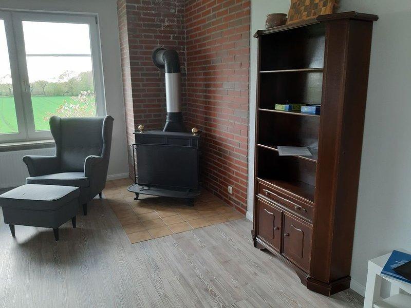 Erholung pur in unserer Ferienwohnung Schwalbennest, vacation rental in Neuendorf-Sachsenbande