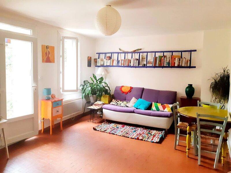 Chambre d hôte plein coeur de Ceret avec jardin, holiday rental in Les Hauts de Ceret