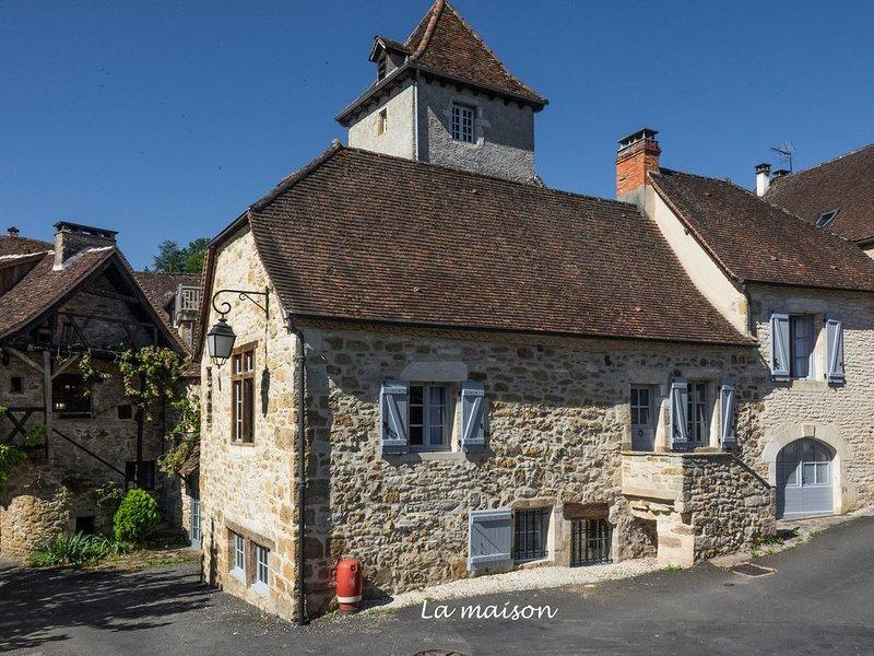 Une maison de charme dans Carennac  entre nature et sites historiques, location de vacances à Beaulieu-sur-Dordogne