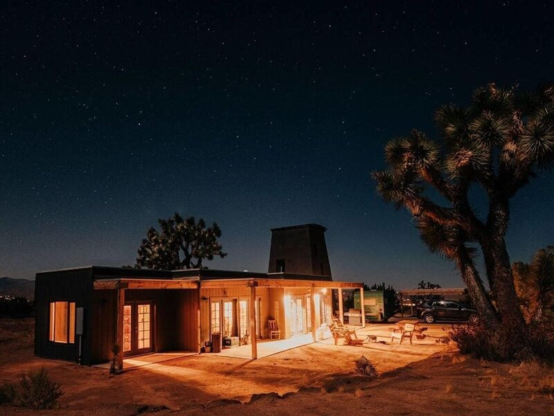 Joshua Tree Hidden Tower Ranch -private, great views,  landmark!, location de vacances à Yucca Valley