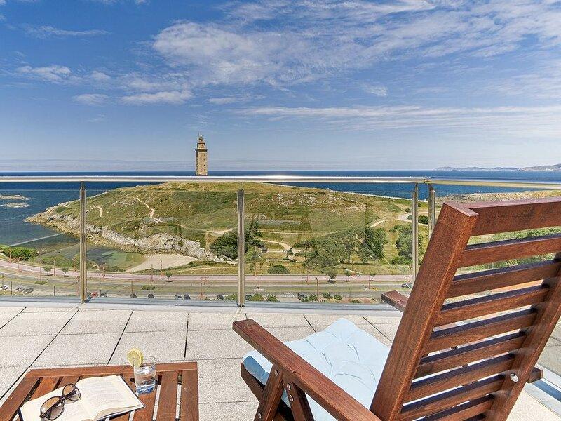 Blue Ocean Penthouse, location de vacances à San Lorenzo