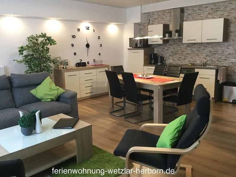 Urlaub am Aartalsee im Lahn-Dill-Bergland, casa vacanza a Lahnau