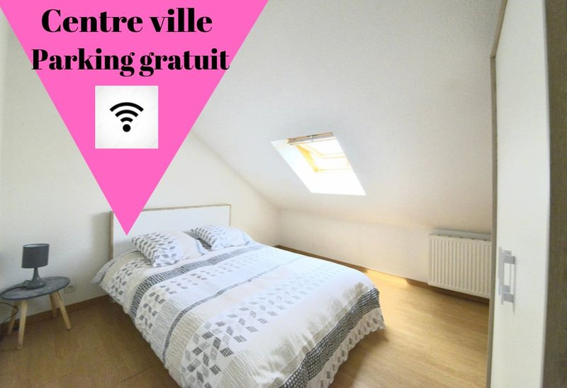 Charmant Duplex 2  Cosy Centre Ville, holiday rental in Premilhat