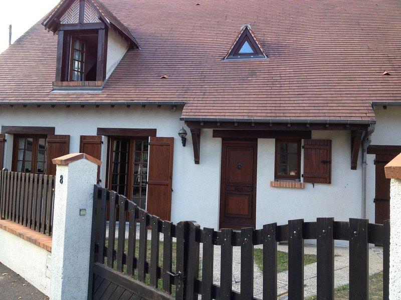 Maison  a chouzy sur cisse avec jardin et  jacuzzi,  entre Blois et Chaumont, location de vacances à Chambon-sur-Cisse