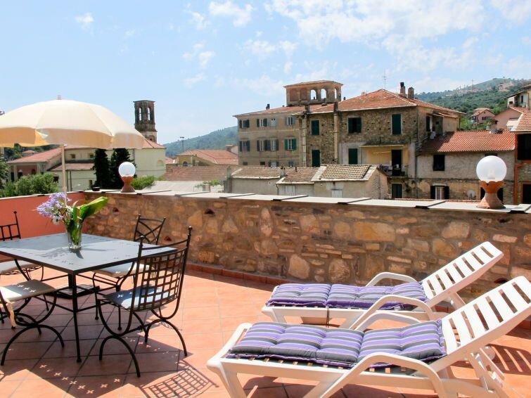 Ferienwohnung Casa del Cavaliere (DOL105) in Dolcedo - 4 Personen, 2 Schlafzimme, aluguéis de temporada em Montegrazie
