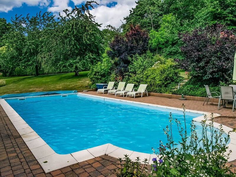Delightful Holiday Home in Aubel Ardennes,Private Pool/Sauna, holiday rental in Thimister-Clermont