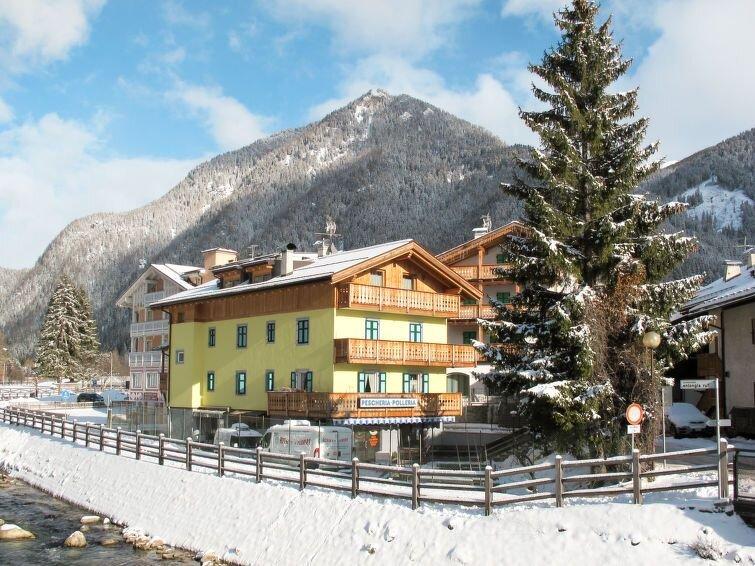 Ferienwohnung Rossetti (PFS191) in Pozza di Fassa - 14 Personen, 4 Schlafzimmer, vacation rental in Pera di Fassa