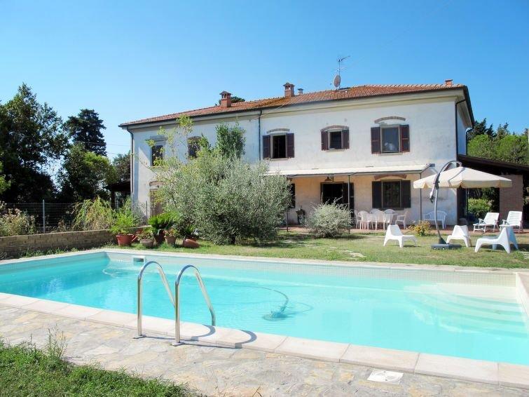 Ferienhaus Le Tamerici (ORC160) in Orciano Pisano - 6 Personen, 3 Schlafzimmer, holiday rental in Parrana San Martino