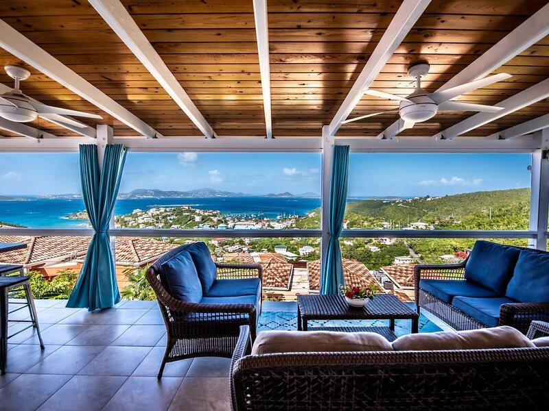 Fantastic Penthouse at Sunset Serenade Suites, holiday rental in Caneel Bay