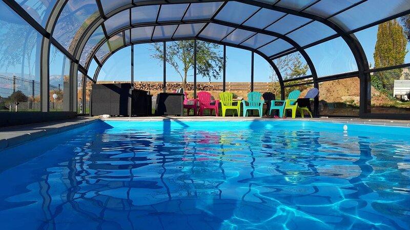 Villa**** face à la mer avec piscine chauffée et couverte, vakantiewoning in Taule