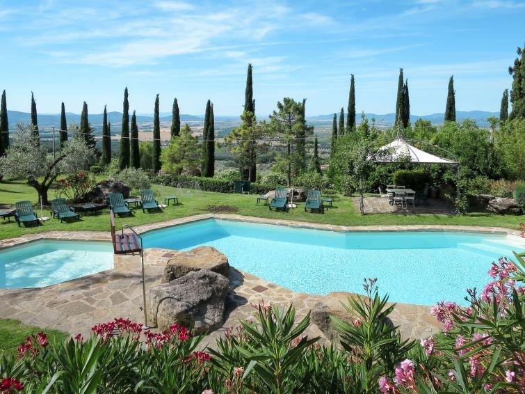Ferienwohnung Tenuta di Peruzzo (ROC151) in Roccastrada - 8 Personen, 4 Schlafzi, vacation rental in Ribolla