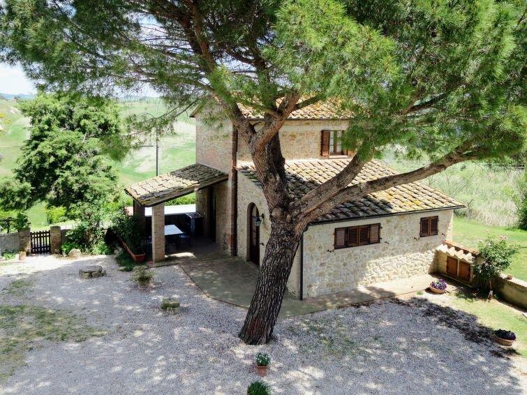 Vacation home Villa Caggio  in Volterra (PI), Riviera degli Etruschi - 5 person, casa vacanza a Volterra