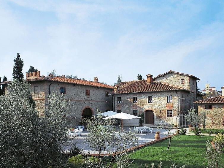 Ferienwohnung Vignale (MEE100) in Meleto - 3 Personen, 1 Schlafzimmer, holiday rental in Castelnuovo dei Sabbioni