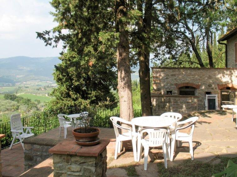 Ferienhaus San Rocco (GRE171) in Greve in Chianti - 6 Personen, 2 Schlafzimmer, holiday rental in Montefioralle
