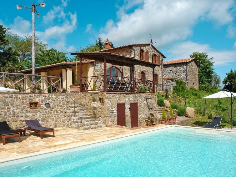 Ferienhaus Villa Le Lame (MTI150) in Montieri - 10 Personen, 5 Schlafzimmer, holiday rental in Montieri