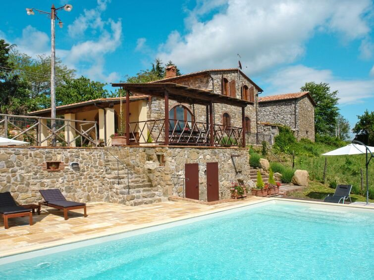 Ferienhaus Villa Le Lame (MTI150) in Montieri - 10 Personen, 5 Schlafzimmer, alquiler vacacional en Monterotondo Marittimo