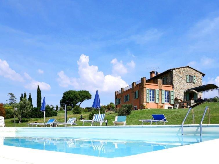 Ferienhaus Villa San Martino (PAI140) in Pomaia - 12 Personen, 6 Schlafzimmer, holiday rental in Orciano Pisano