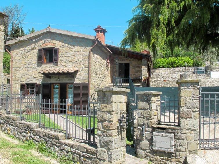 Ferienhaus Capanna (LOF310) in Loro Ciuffenna - 6 Personen, 3 Schlafzimmer, casa vacanza a Loro Ciuffenna
