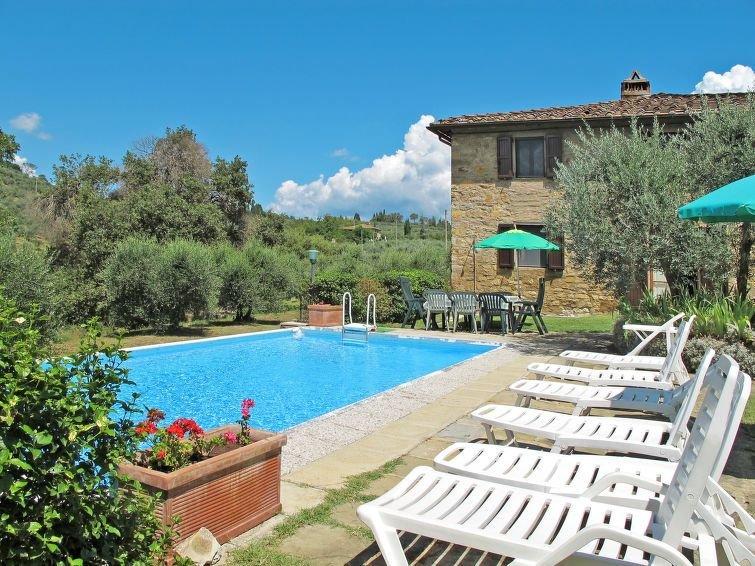 Ferienhaus Il Laghetto (PGO131) in Pergine Valdarno - 9 Personen, 4 Schlafzimmer, alquiler de vacaciones en Pergine Valdarno