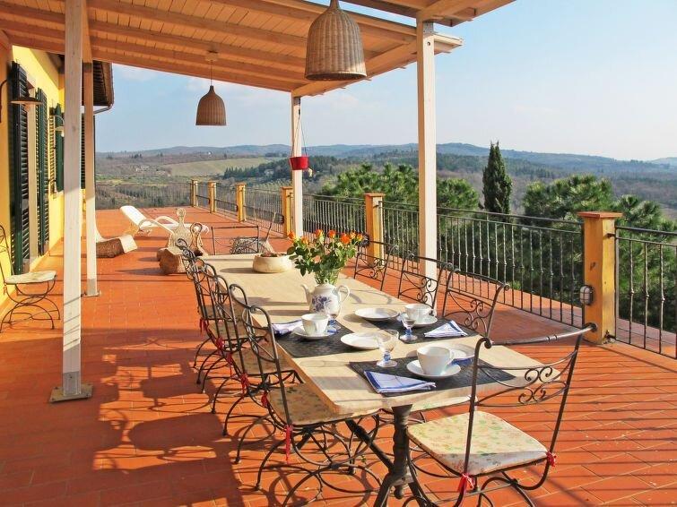 Ferienwohnung Lensi (SDP210) in San Donato in Poggio - 6 Personen, 3 Schlafzimme, holiday rental in Tavarnelle Val di Pesa