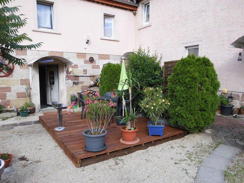 Ferienwohnung für 2 + 1, vacation rental in Bad Sulza
