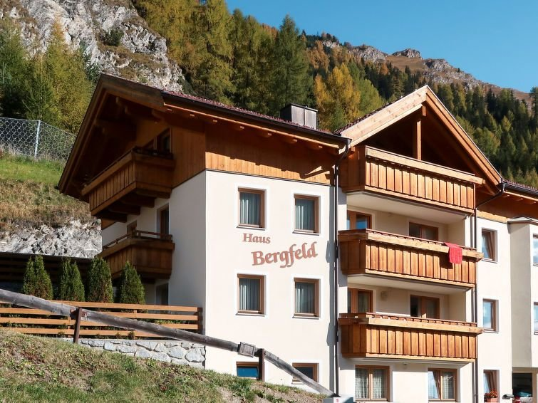 Apartment Haus Bergfeld  in Spiss, Oberinntal - 4 persons, 1 bedroom, vacation rental in Samnaun