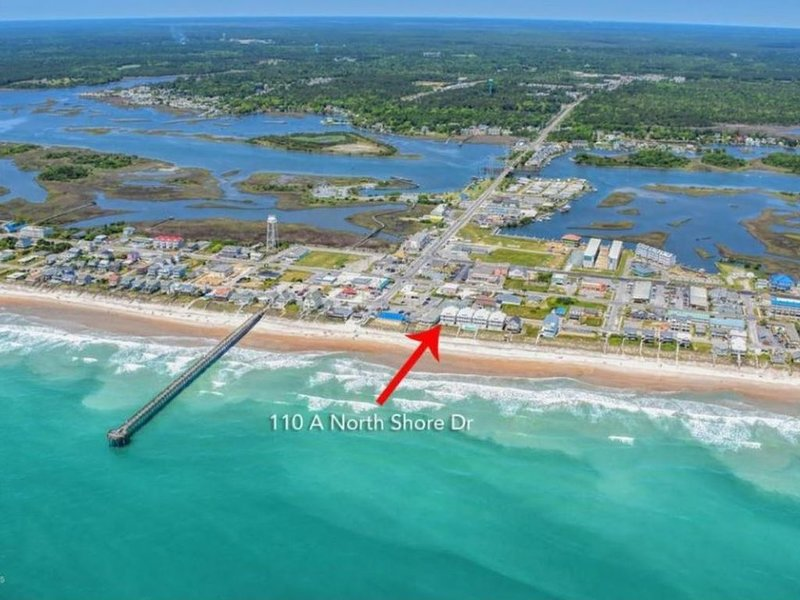 Oceanfront, Pool, Early Check-In, Elevator, Walk to Grocery, Dining, holiday rental in Surf City